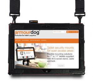 armourdog®  shoulder and hand strap case for Lenovo ThinkPad 10 gen 2. Perfect for retail, hospitality, utilities & healthcare.